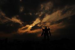 Mobile Suit Gundam RX78_15 (ajari) Tags: orange japan landscape tokyo robot nikon 日本 東京 odaiba gundam 風景 お台場 オレンジ d300 mobilesuit ロボット rx78 sigma1850mmf28exdcmacrohsm mobilesuitgundamrx78