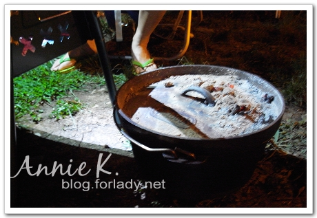 武陵野炊荷蘭鍋當暖爐