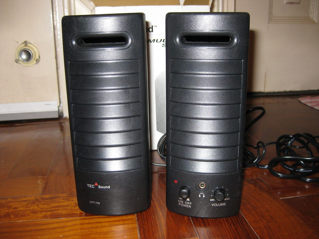 BRAND NEW - TEC multimedia speaker system