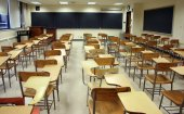 Empty Classroom  (Photo by Tiffany Szerpicki, Stock.Xchng)