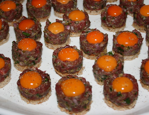 Steak Tartare (Quail Egg Yolk)