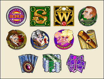 free Cashville slot game symbols