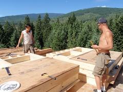 Construction des boites-murs