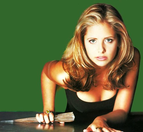 Buffy In Simpler Times