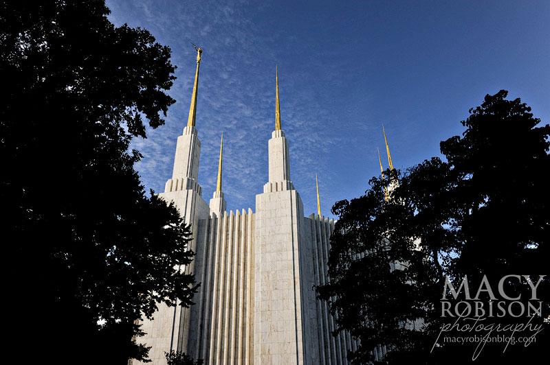 Washington DC LDS Temple Exterior 4