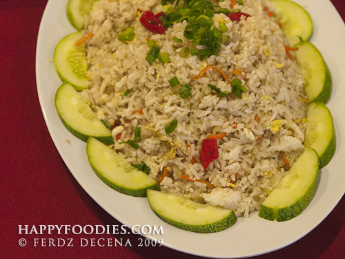 Fried Kampung Rice