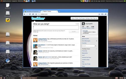 Chromium en Ubuntu (aka Chrome)