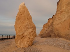 Coastal Erosion 2 (chris37111) Tags: coast norfolk olympus erosian runton 1030sw chris37111