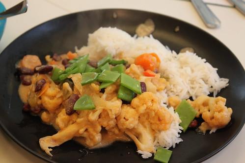 Efter - Grönsaksgryta med ris by you.