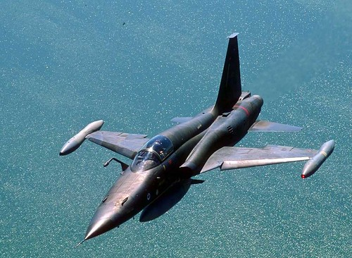 Fighter airplane picture - F-5