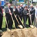 Breaking ground on ~40 million dollar Port Jefferson - Patchogue project utilizing federal stimulus funds