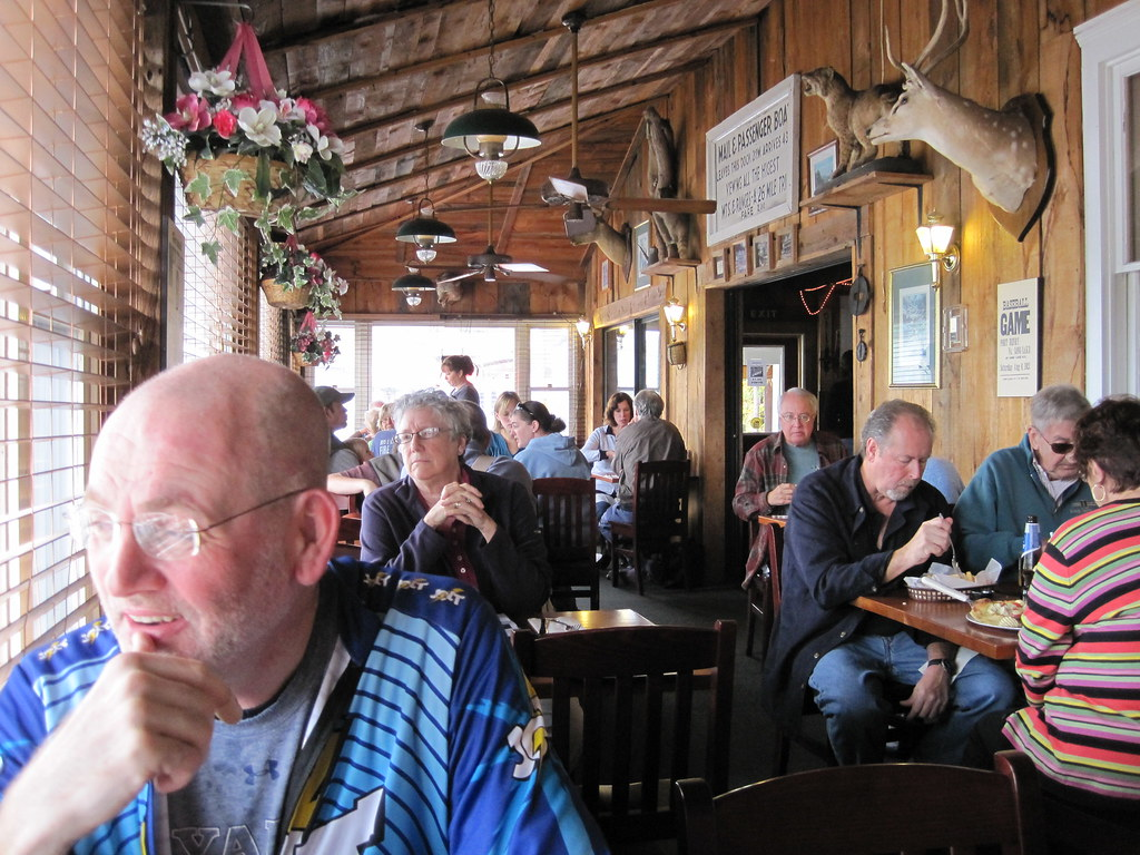 Lunch in the Adirondack Hotel, Long Lake