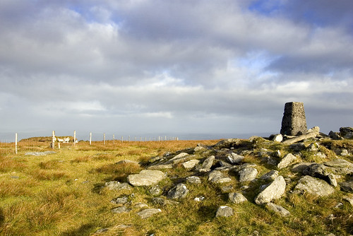 Trig Pillar on Sawel