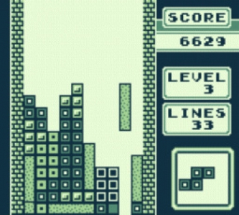 The most fun a person can have playing Tetris is completing this drop