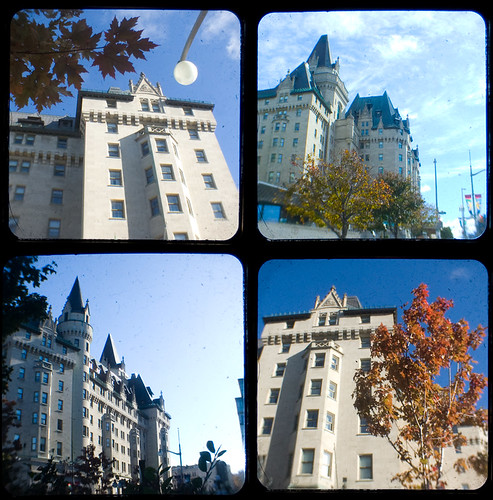 261b:365 Chateau Laurier TtV Collage