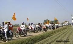 Khalsa March (Baaghi Singh...) Tags: youth sikh punjab amritsar federation shaheed khalistan bhindranwala damdami taksal shaheedi gadli