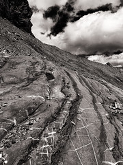 switzerland-mountains-bw-17 (Mike' s Photos) Tags: bw white black alps schweiz switzerland hiking urlaub alpen gemmi leukerbad mountans