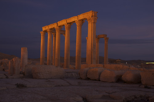 Palmyra at dawn