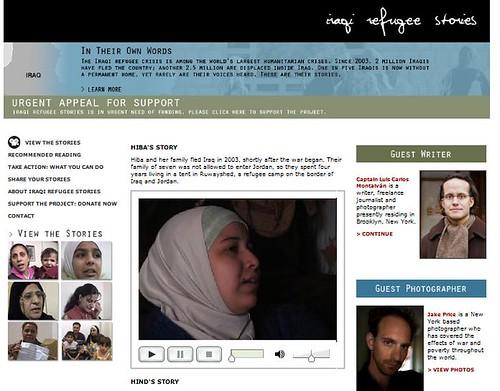 Iraqi refugee stories
