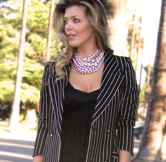 lbd-striped-ungaro-blazer-polka-dot-tights-wedges-3