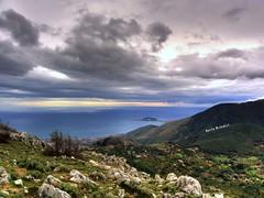 Golfo di Gaeta  dai  Monti Aurunci (Marioleona) Tags: italy landscape paisaje land paesaggio lazio landschap aurunci mariobrindisi cainapoli