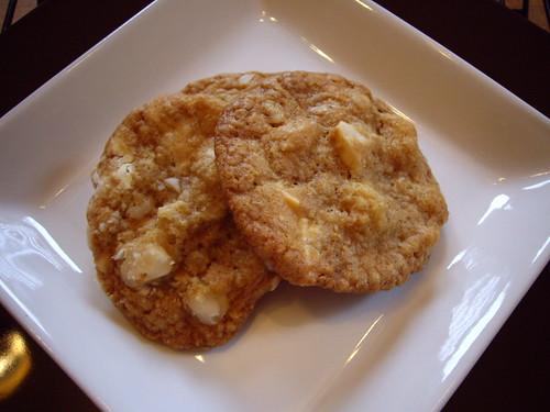 Macadamia and White Chocolate Chunk Cookies