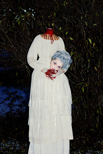 a headless marie antoinette  sc 1 st  MommyKnows & headless marie antoinette halloween costume | Kim Becker aka ...