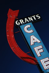 Grants Cafe in Prewitt, New Mexico