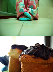 Flewwwf!! (starsinmysocks) Tags: winter cold socks muffins pants fluff angela jammies diptychs nikond40 starsinmysocks