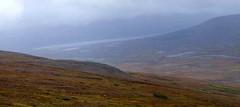 Glacial Lake (Travis S.) Tags: autostitch panorama lake fog alaska river northwest panoramic hills valley nome survey glacial glaciallake sewardpeninsula stewartriver sinuk sinukriver stewartrivericepatchsurvey