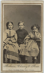 Rebecca, Charley & Rosa, Slave Children from New Orleans (SMU Central University Libraries) Tags: portraits children civilwar photograph slaves vintageportraits
