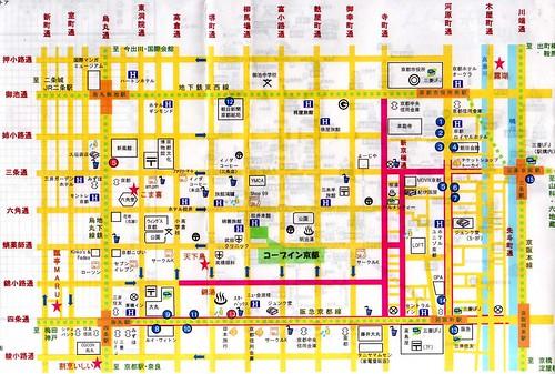 京都河原町地圖012