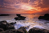 THIS EVENING (tropicaLiving - Jessy Eykendorp) Tags: longexposure light sunset sea sky bali seascape beach nature water indonesia landscape rocks shoreline westcoast echobeach canggu efs1022mmf3545usm outdoorphotography thisevening canoneos50d tropicaliving yourwonderland rawproccessedwithdigitalphotopro tiffproccessedwithadobephotoshopcs3 singhraydarylbensonreversendgrad