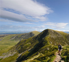 A walker's wonderland (Danil) Tags: uk summer england mountain holiday classic wales landscape vakantie daniel hike snowdonia scramble landschap lotte d300 carneddllewelyn hillwalk thebestwalkofourholiday