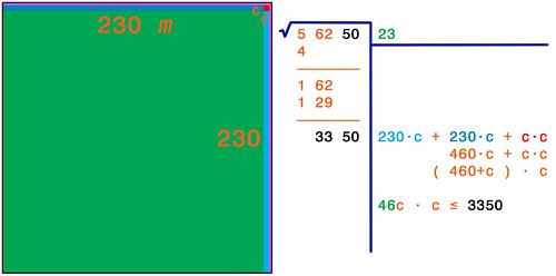 Radice quadrata 7