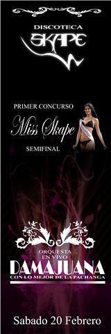 Miss Skape - Discoteca Skape