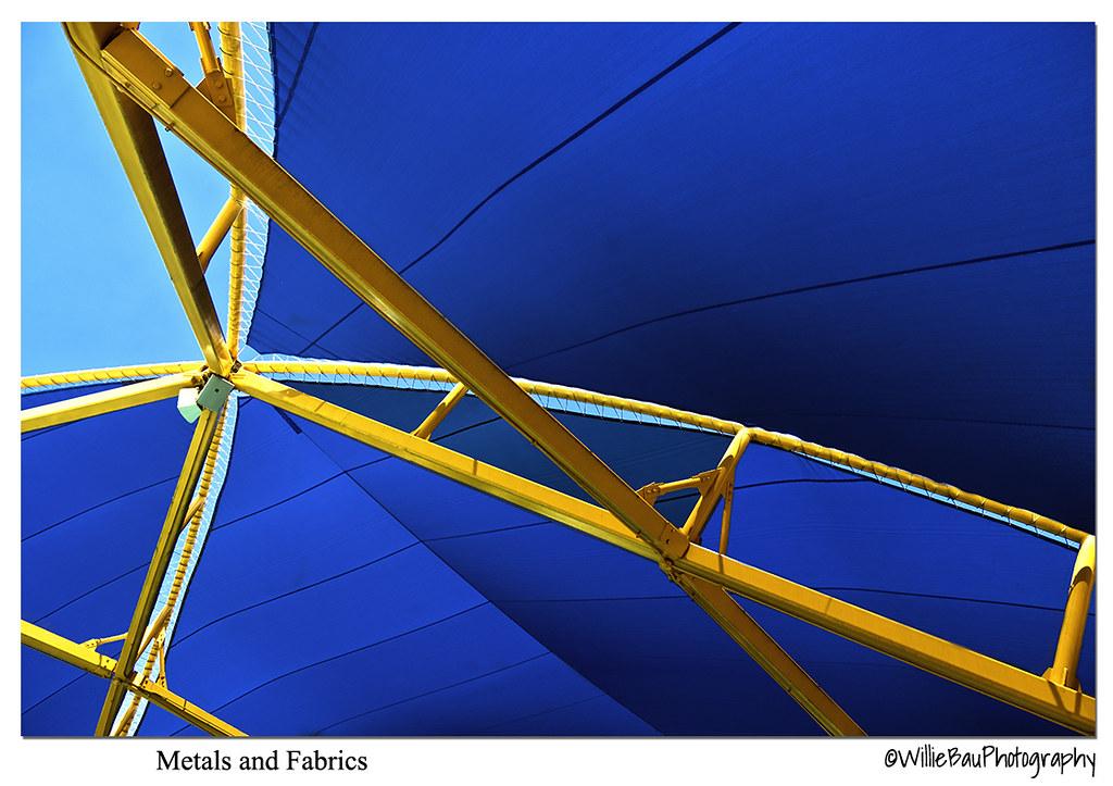 Metals and Fabrics.