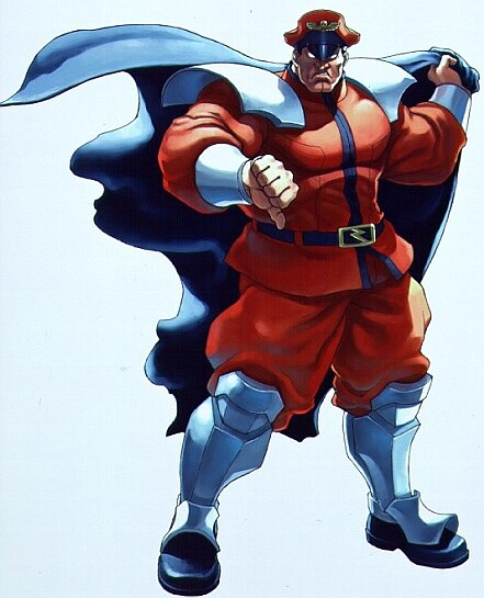 M. Bison street fighter Image