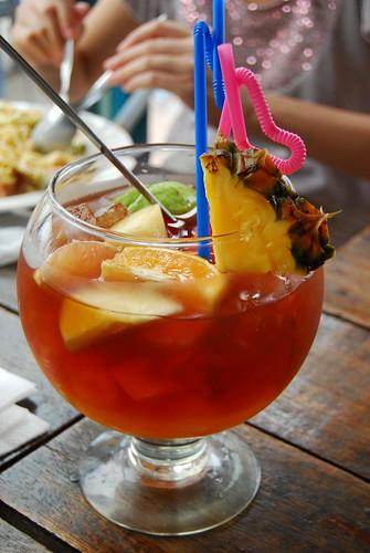 超大杯水果茶