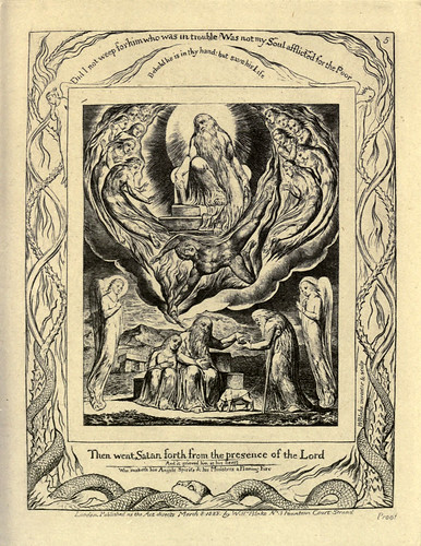 012- El libro de Job-William Blake 1825