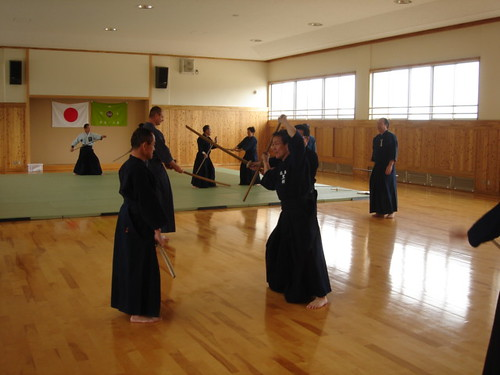 Shindo Muso-ryu Jo Training