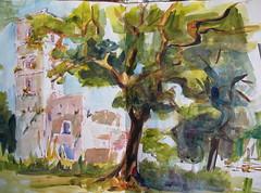maremmasketch6 (maike.josupeit) Tags: watercolor sketch tuscany toskana maremma travelsketch