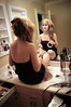 Got Places to Be (mgm photography.) Tags: girl hair bathroom mirror sitting sink expression tape facepaint hairdryer morganmannino