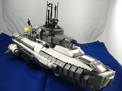 Multi-Role Naval Craft (Dr. Spontaneous) Tags: boat ship lego navy multirole