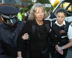 Pauline Campbell (mother of Sarah Campbell) under arrest again
