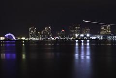 "Downtown (Lil brah ""Going through contacts"") Tags: city longexposure sky boston night lights bostonist planetrail fujifilms5pro 58mm14 nikon1755mmf28gedifafsdx"