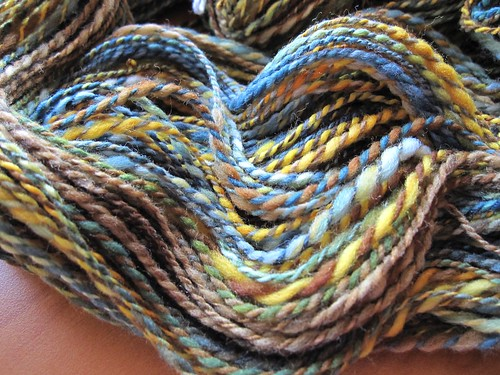 all spun up handspun
