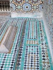 Saadian Tombs (d. marie henderson) Tags: travel morocco marrakech tombs zellij saadiantombs