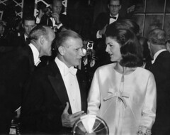 John A. Volpe & Jackie Kennedy