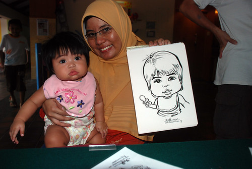Caricature live sketching for Costa Sands Resort Day 3 - 6